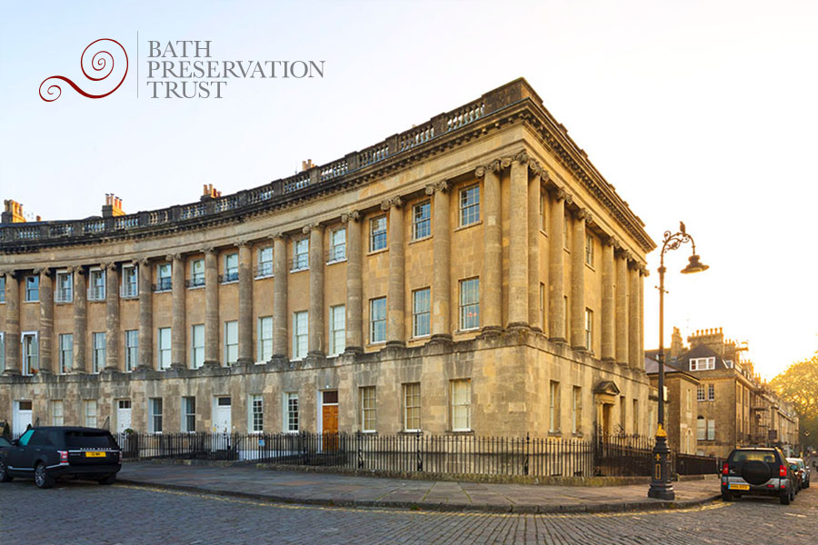 Graphic design services for the Bath Preservation Trust.